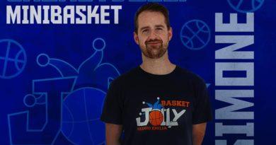 Minibasket, Simone Roveri tra i nuovi istruttori!