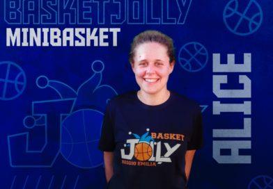 Minibasket, Alice Brevini nuova istruttrice del Basket Jolly!